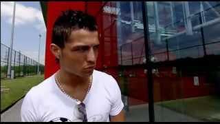 Cristiano Ronaldo - Pre Match Build Up & Interview Vs Chelsea UCL Final 07-08