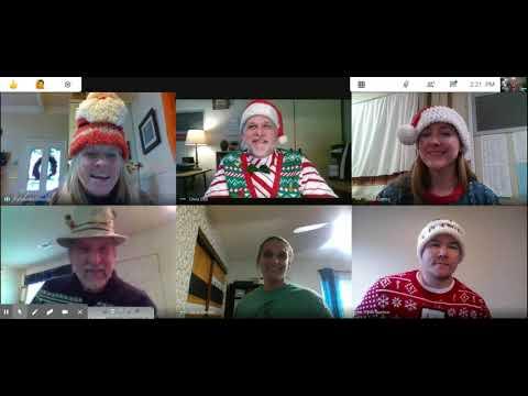 Buckeye School of the Arts Junior High Jingle Bells via Google Meet