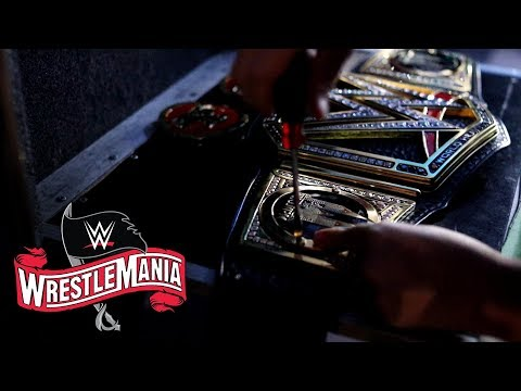 Get a first look at Drew McIntyre's WWE Championship plates: WWE Exclusive, April 5, 2020
