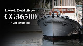 The Gold Medal Boat CG 36500 - A Stem to Stern Tour