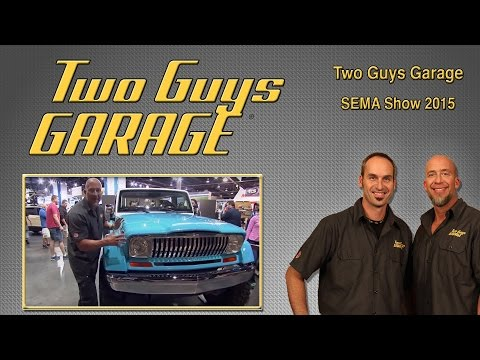 SEMA Show 2015 | Two Guys Garage