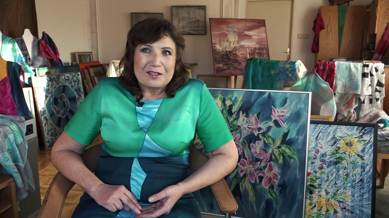 Video Výstava známé ak. malířky Brigity Krumphanzlové