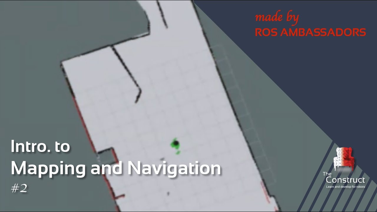 [ROS Tutorials] Introduction to Mapping and Navigation #2