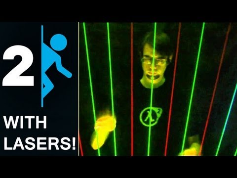 Portal 2 On Laser Harp - Reconstructing Science