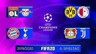 FIFA 20 Champions League - Spieltag 6 I Saison 201920 Deutsch FULL HD