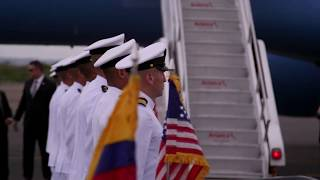 Vice President Pence in Colombia