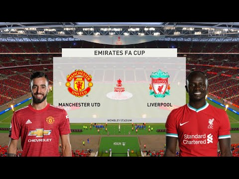 Manchester United vs Liverpool – The Emirates FA Cup – Full Match & Gameplay | FIFA 21