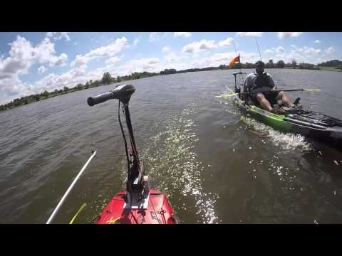 Jackson Kayak Big Rig Electric Motor Test