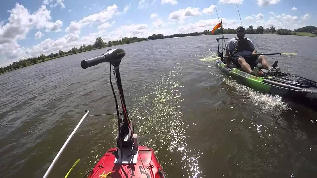 Jackson Kayak Big Rig Electric Motor Test Youtube