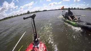 Jackson Kayak Big Rig Electric Motor Test