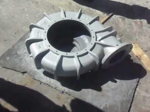 WEARCON Epoxy Wear resistant: pump casing repairing