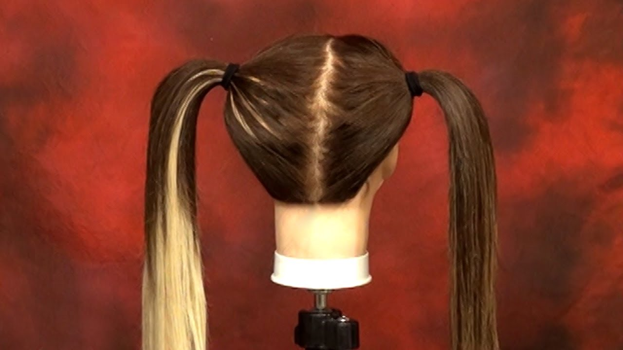 Wefted Extension Placement For Pigtail Styling Doctoredlocks