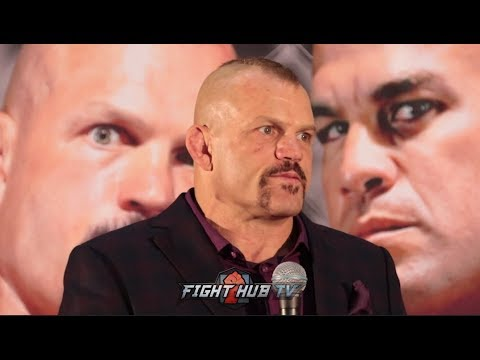 CHUCK LIDDELL'S FULL POST FIGHT PRESS CONFERENCE - CHUCK VS TITO 3 VIDEO