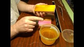 небольшой эксперимент с льняным маслом