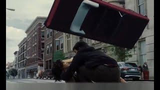 Barry saves Iris. Justice League 2017 (Deleted Scene)