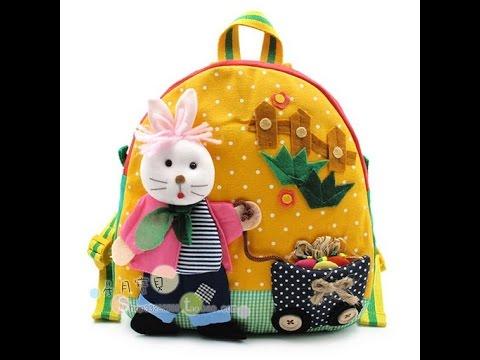 Детский рюкзак своими руками для девочки фото