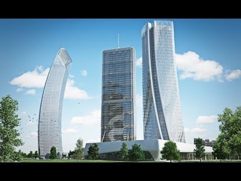 Milan CityLife Mega Project :Italy's $2BN New Futuristic City For 2020