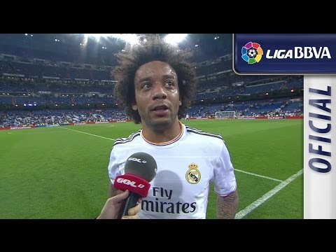 Interview Marcelo after Real Madrid (2-2) Valencia CF - HD