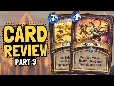 NEW SPELLS for Shaman & Warlock! - Saviors Review Part 3 | Hearthstone
