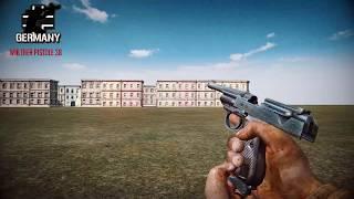 Forgotten Hope 2 - All Pistols - [HD]
