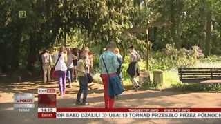 Przelewice: nie chcą fermy norek obok ogrodu dendrologicznego (Raport z Polski TVP Info, 17.05.2013)