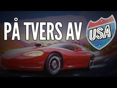 PÅ TVERS AV USA - The Crew / Norsk Gaming