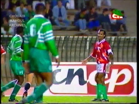 ALGERIE 1 - NIGERIA 1 (Elim CDM 1994) 2ėme Mi-Temps