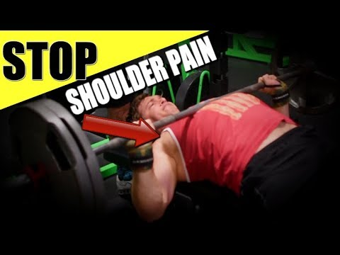 Shoulder Pain During the Bench Press (Fix It Now!)
