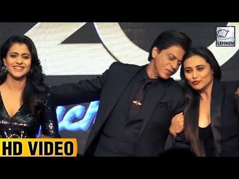Shah Rukh, Kajol, Rani's FUNNY MOMENTS At 'Kuch Kuch Hota Hai' 20 Years Celebration   LehrenTV