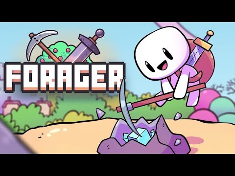 Smashing Things For Fun And Profit - Forager Gameplay - Part 1