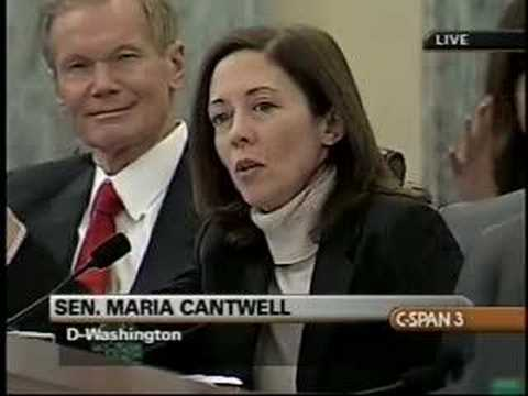 FCC Oversight Hearings -- Sen. Maria Cantwell