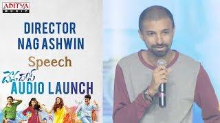 Director Nag Ashwin Speech @ Devadas Audio Launch || Akkineni Nagarjuna, Nani