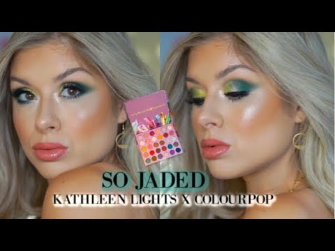 SO JADED KATHLEEN LIGHTS X COLOURPOP MAKEUP TUTORIAL thumbnail