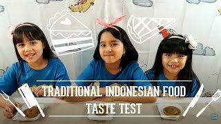 Traditional Indonesian Food Taste Test (With Nicole and Pat)
