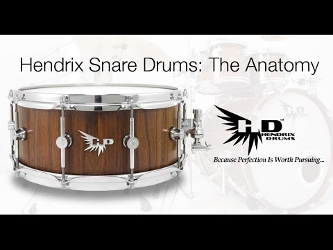 Hendrix Drums, The Anatomy of an Archetype Series Stave Snare Drum ...