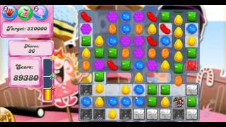 Candy Crush Saga Level 385 - 3 Stars - No Boosters Used