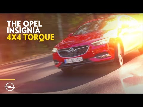 Opel Insignia Grand Sport | 4x4 with Torque Vectoring | Teaser
