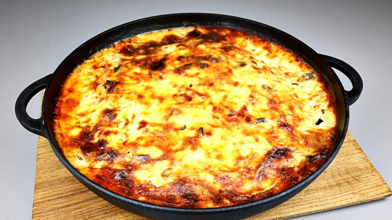 картофельная запеканка на сковороде рецепт с фото простой