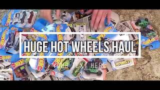 Huge Hot Wheels Haul