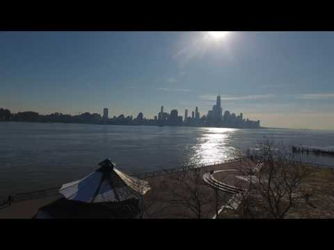 DJI Phantom 4 over Hoboken's Pier A