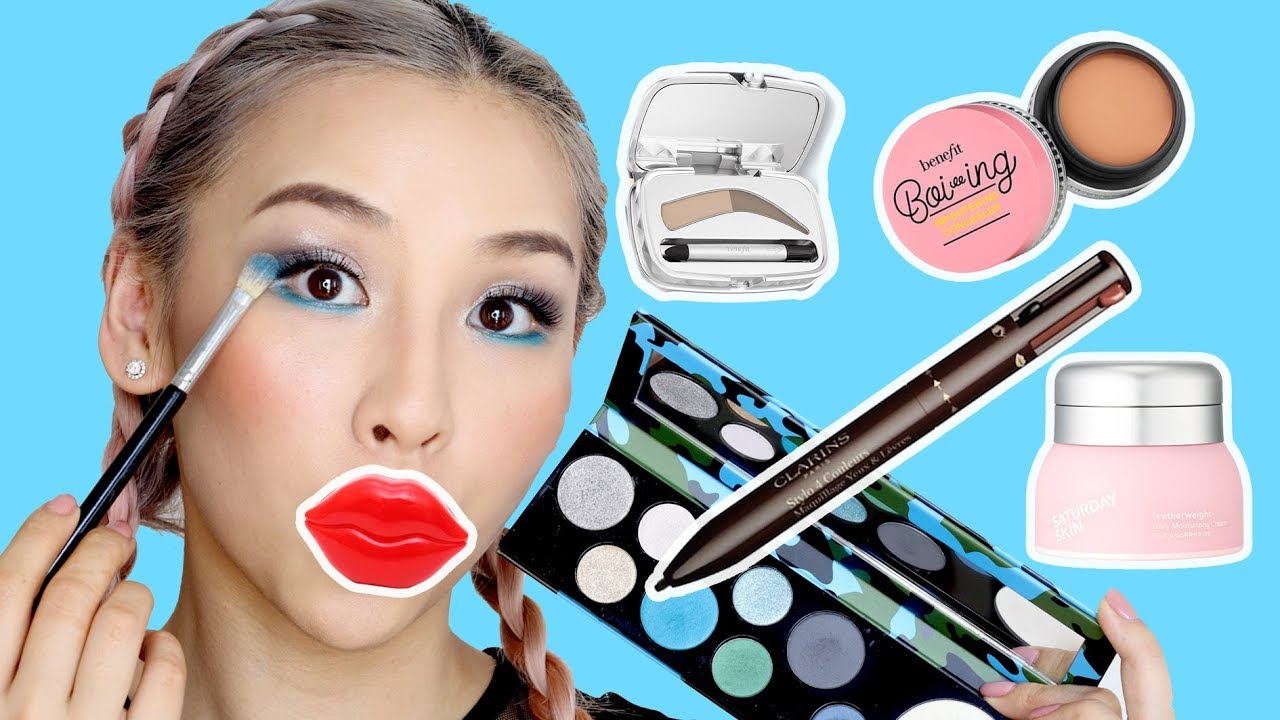 Trying New Makeup Products