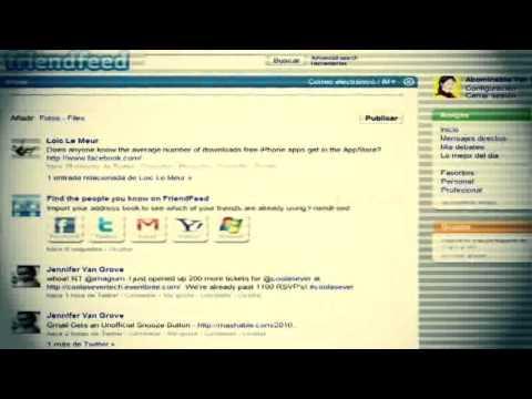 Tecnología - FriendFeed