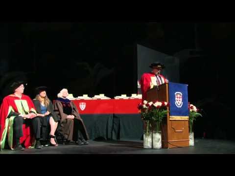 Mr. Robert Wares, DSc - McGill 2012 Honorary Doctorate Address