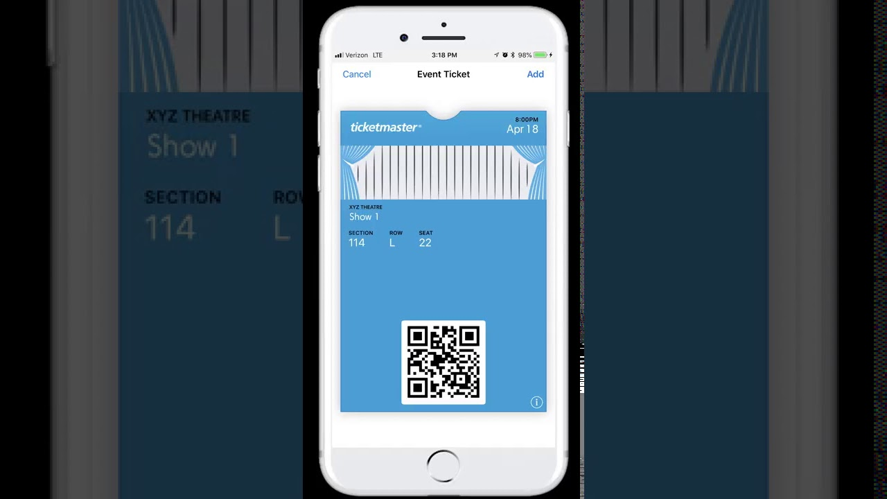 Manage Your Mobile Tickets Purchased On Ticketmaster Youtube