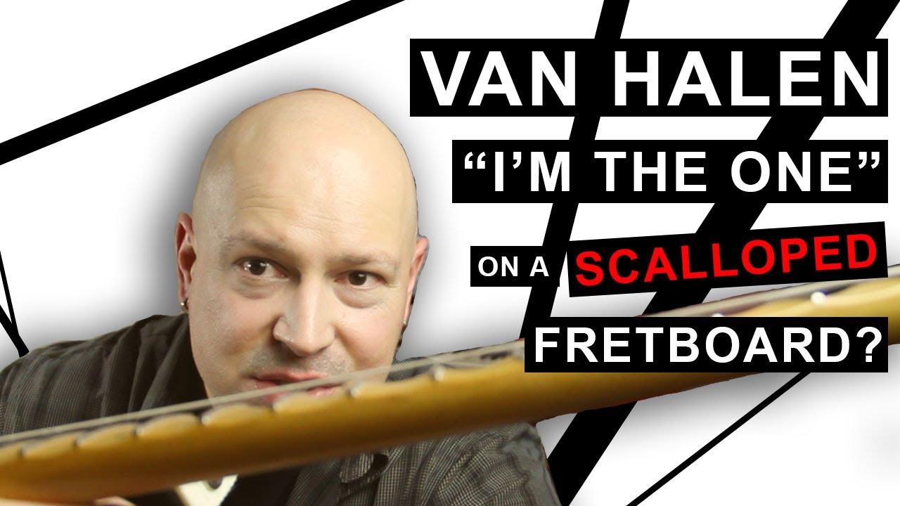 "Van Halen ""I'm The One"" Guitar Cover"