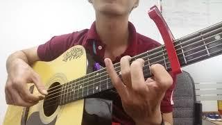 Cả một trời thương nhớ guitar solo | kimminh