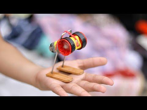 Amazing DIY idea with DC Motor