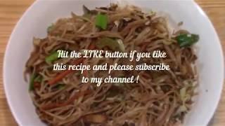 Veg Hakka noodles | Indo-chinese recipe | Indian street food