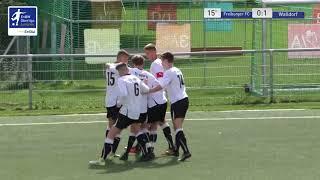 A-Junioren - 0:1 Nick Huller - Freiburger FC vs FC-Astoria Walldorf