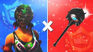 5 TRYHARD SKINS COMBO on FORTNITE! #2